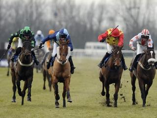 There is racing from Huntingdon on Monday